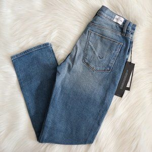 Hudson Zoeey High Rise Straight Crop Jeans Sz 24